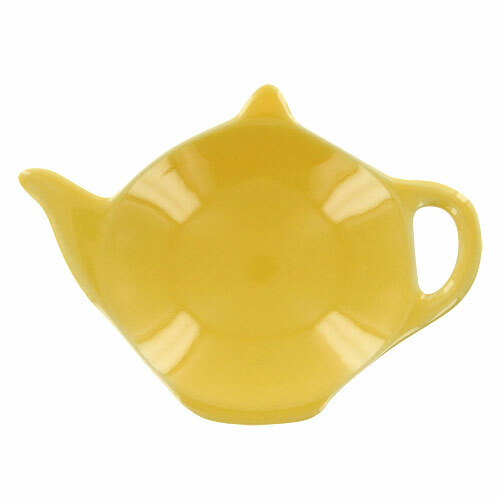 Teaz Cafe Tea Caddy - Yellow