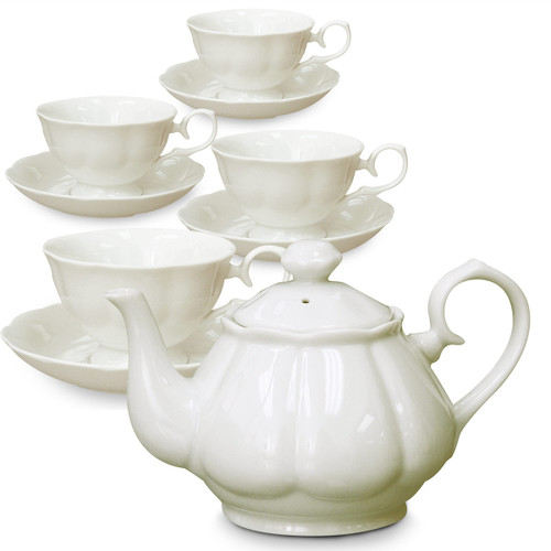 Full Porcelain Tea Set - Diana