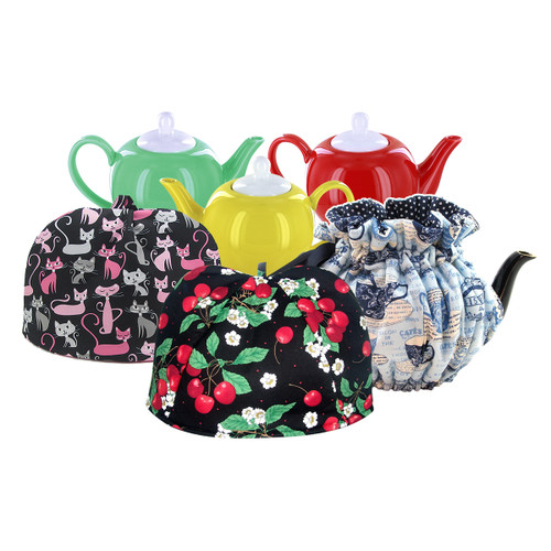 Teapot and Cozy Gift Set