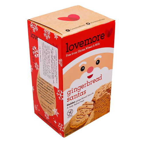 Lovemore Gingerbread Santa Cookies (195g)