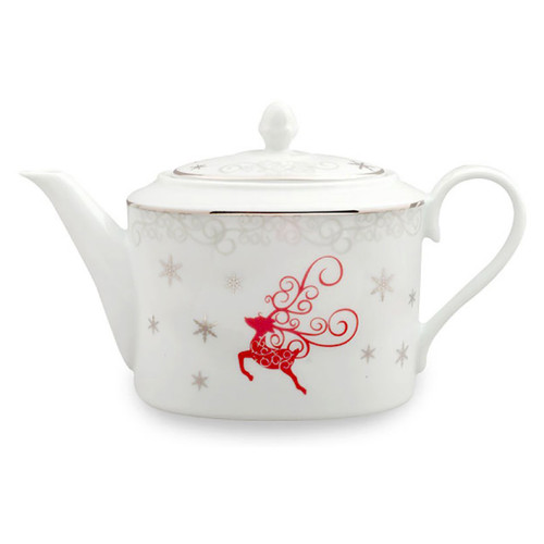 Twinkle Star Reindeer Porcelain 5 Cup Coffee Pot