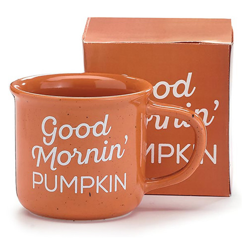 Good Mornin' Pumpkin Ceramic Mug