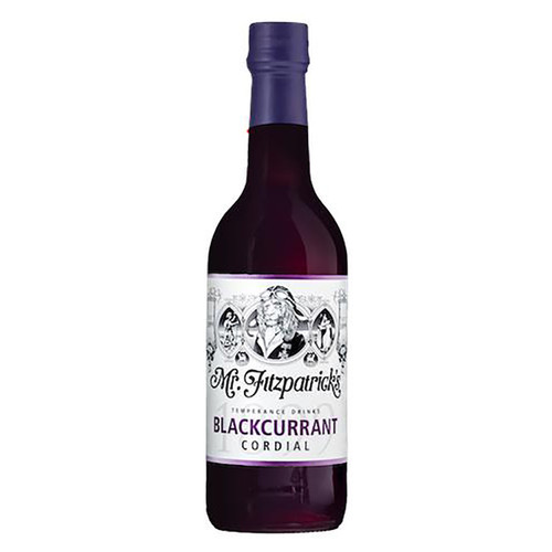 Mr. Fitzpatrick's Blackcurant Cordial - 16.9 fl (500ml)