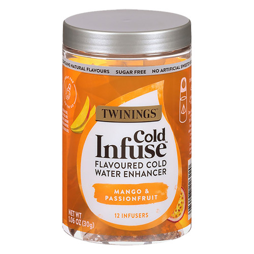 Twinings Cold Infuse Jar - Mango & Passionfruit - 12 count