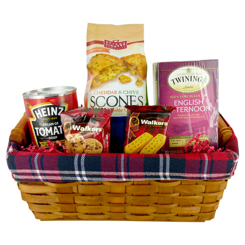 A Cuppa Comfort Gift Basket