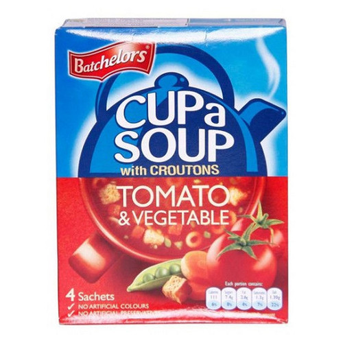 Batchelor's Cup-A-Soup - Tomato and Vegetable  3.66 oz (104g)