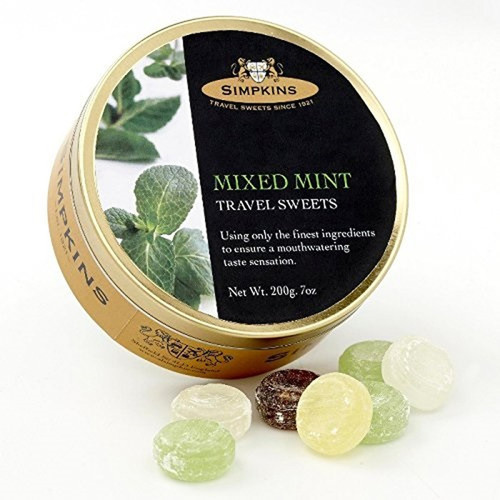 Simpkin's Travel Sweets - Mixed Mint - 7oz. (200g)
