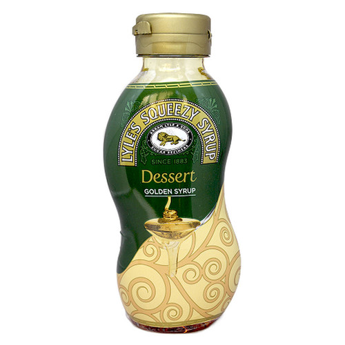 Tate and Lyle's Dessert Golden Syrup Squeezy- 11oz (311g)