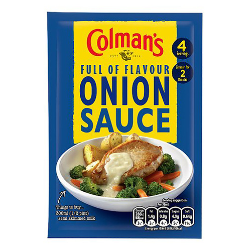Colman's Onion Sauce Mix - 1.2oz (35g)