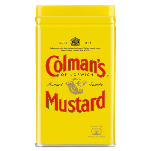 Colman's English Mustard Powder- 3.9oz (113g)