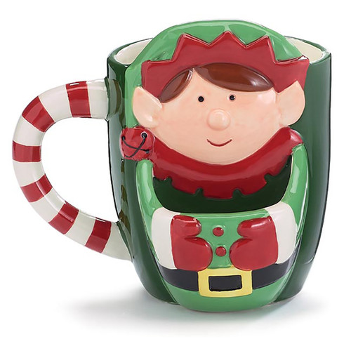 Elf Mug With Cookie Pouch - 19oz