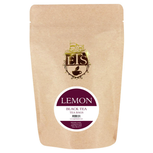 Lemon Flavored Black Tea - Teabags