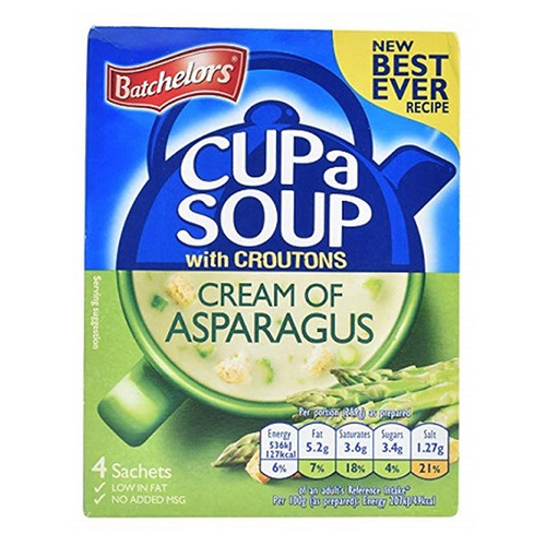 Batchelor's Cup-A-Soup - Cream of Asparagus  4.12 oz (117g)