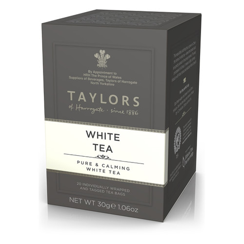 Taylors of Harrogate Tea - White - 20 count