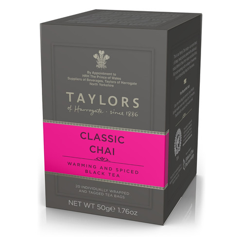 Taylors of Harrogate Tea - Classic Chai - 20 count
