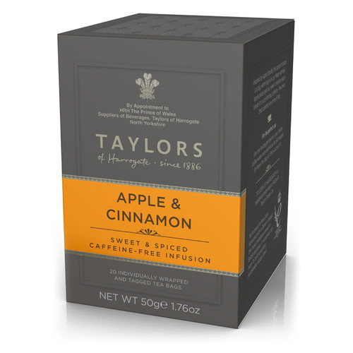 Taylors of Harrogate Tea - Apples & Cinnamon - 20 count