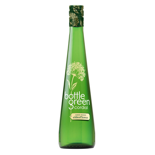 Bottle Green Cordial - Hand Picked Elderflower- 16.9 fl (500ml)