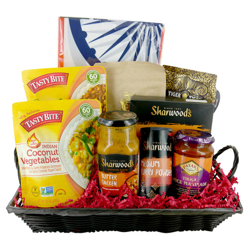 Indian Cuisine Gift Basket