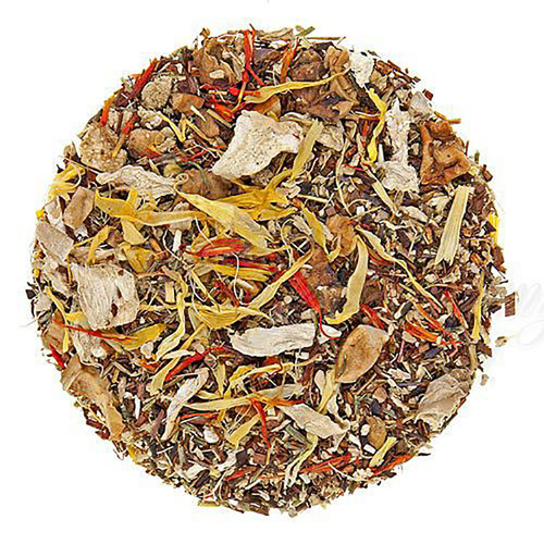 Apple Ginger Rooibos Tea - Loose Leaf