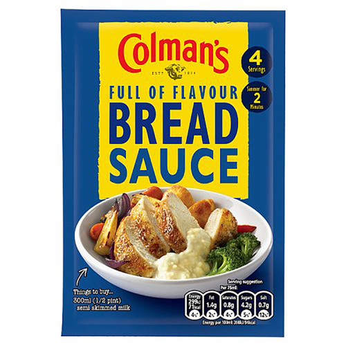 Colman's Bread Sauce Mix - 1.40oz (40g)
