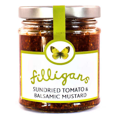 Filligans Sundried Tomato and Balsamic Mustard - 6.35oz (180g)