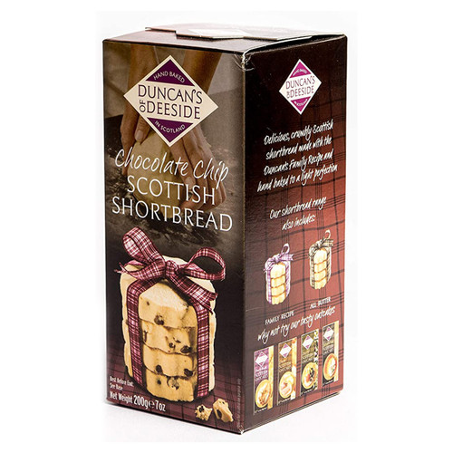 Duncan's of Deeside Chocolate Chip Shortbread 7oz (198g)