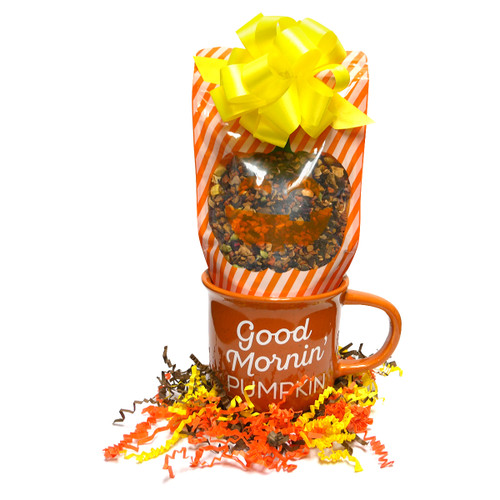 Pumpkin Pie Herbal Tea and Mug Set