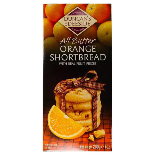 Duncan's of Deeside Orange Shortbread 7oz (198g)