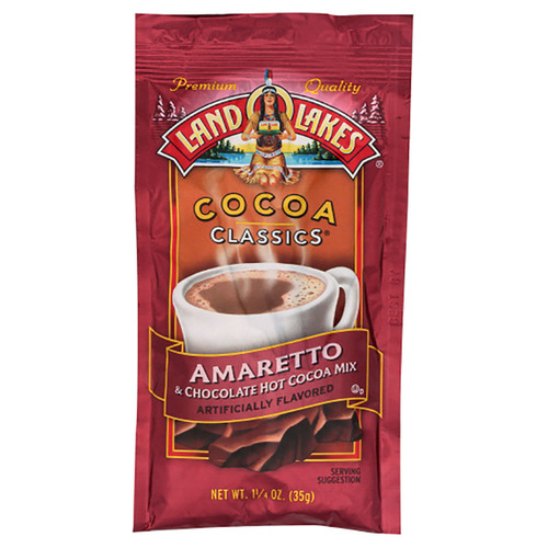 Land O Lakes Amaretto & Chocolate Hot Cocoa Mix  - 1.25oz (35g)