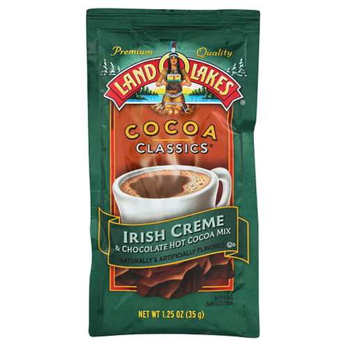 Land O Lakes Irish Creme & Chocolate Hot Cocoa Mix  - 1.25oz (35g)