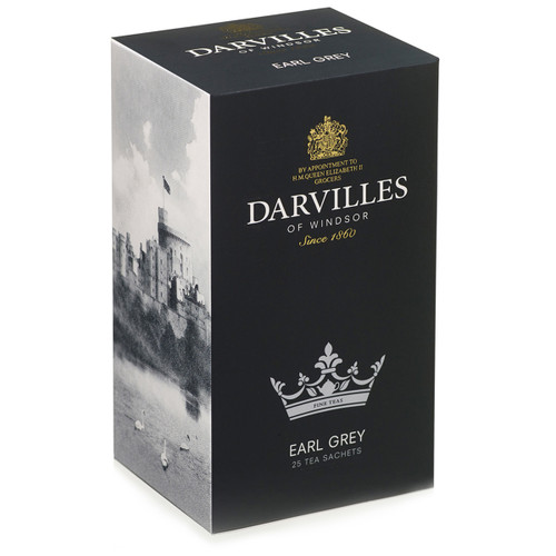 Darvilles of Windsor Earl Grey Tea - 25 Count