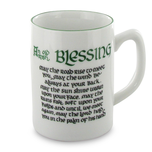 Irish Blessing Mug - 8oz