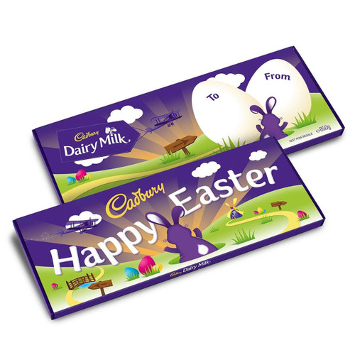 Cadbury Dairy Milk Easter Bar - 3.52oz (100g)