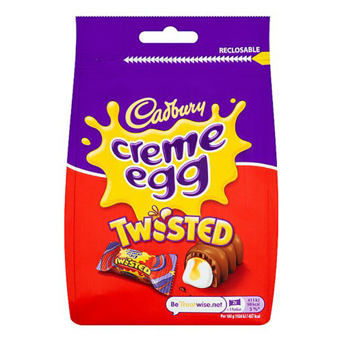 Cadbury Creme Egg Twisted - 2.92oz (83g)