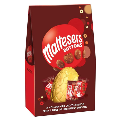 Mars Maltesers Buttons Extra Large Easter Egg  - 9.66oz (274g)