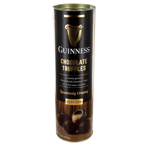 Guinness Dark Chocolate Truffles Tube - 11.2oz (317g)