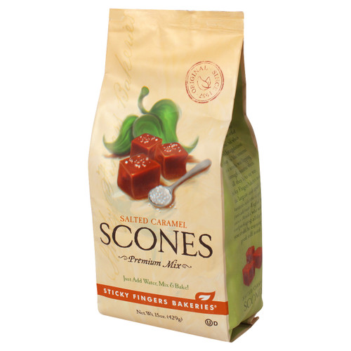 Scone Mix - Salted Caramel - 15oz (429g)