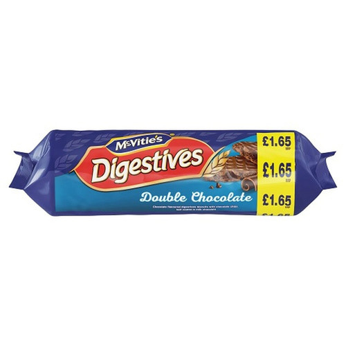 McVities Digestives Double Chocolate - 9.41oz (267g)