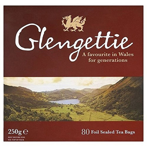 Glengettie Tea Bags - 80 count