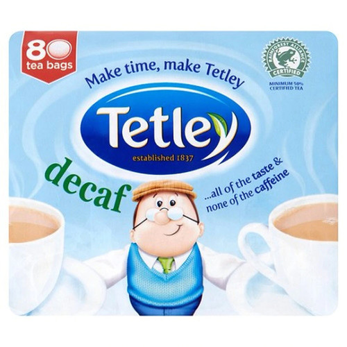 Decaf Tetley Tea Bags - 80 count