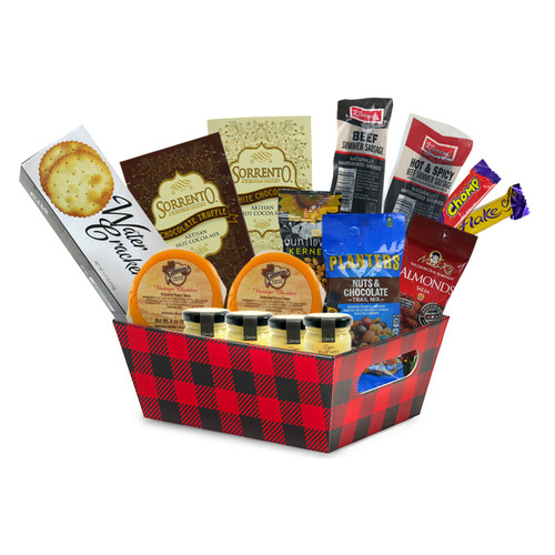 English Tea Store's Deluxe Meat and Cheese Gift Tray
