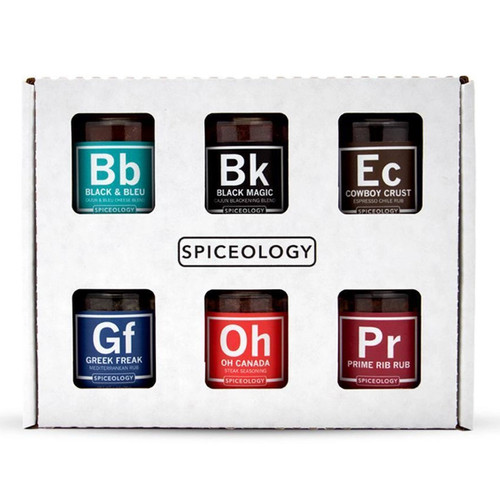 Spiceology Steak Lovers - 6 Seasoning Blends