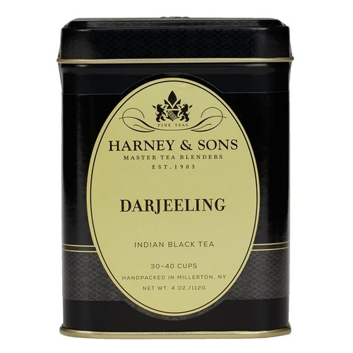 Harney and Sons Tea - Darjeeling Loose Leaf Tea - 4oz (112g)