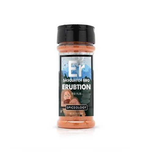 Spiceology Sasquatch BBQ - Erubtion Rib Rub - 4.4 oz.