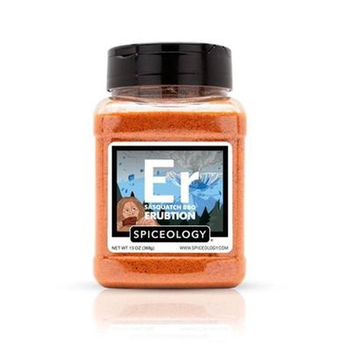 Spiceology Sasquatch BBQ - Erubtion Rib Rub - 13 oz.