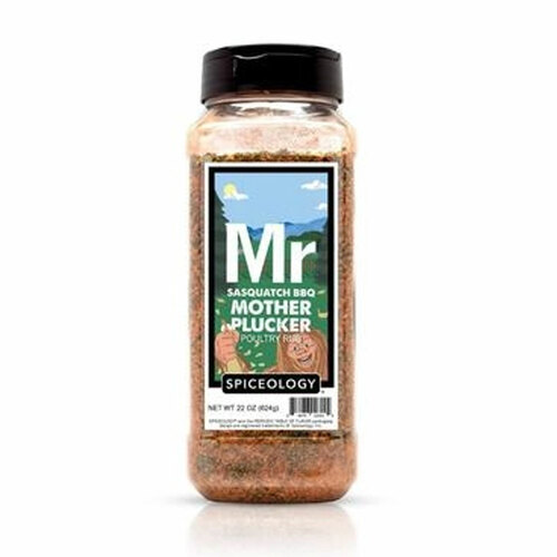 Spiceology Sasquatch BBQ - Mother Plucker Poultry Rub - 22 oz.