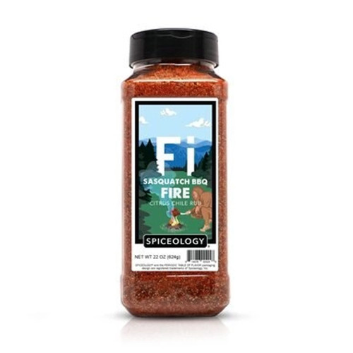 Spiceology Sasquatch BBQ - Fire - Citrus Chile Rub - 22 oz.