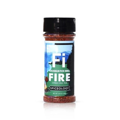 Spiceology Sasquatch BBQ - Fire - Citrus Rub - 3.8 oz.