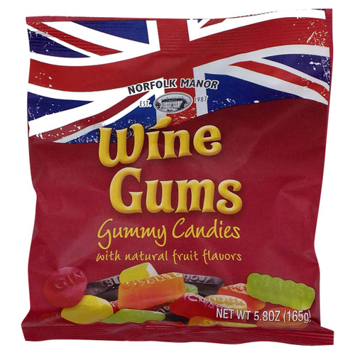 Norfolk Manor Wine Gums - 5.82 oz (165g)