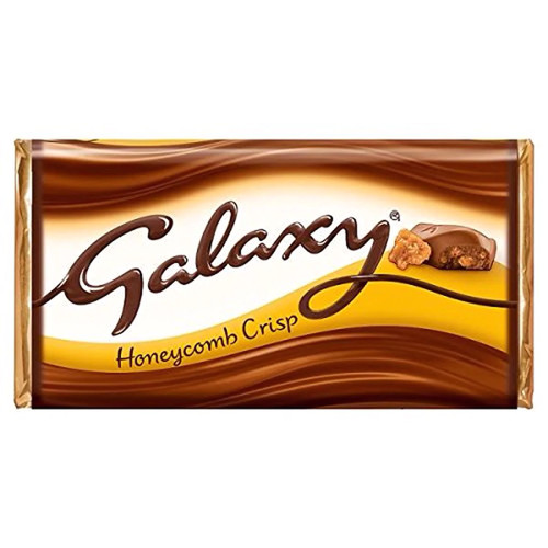 Mars Galaxy Honey Comb Crisp Chocolate Bar - 4.02 oz (114g)